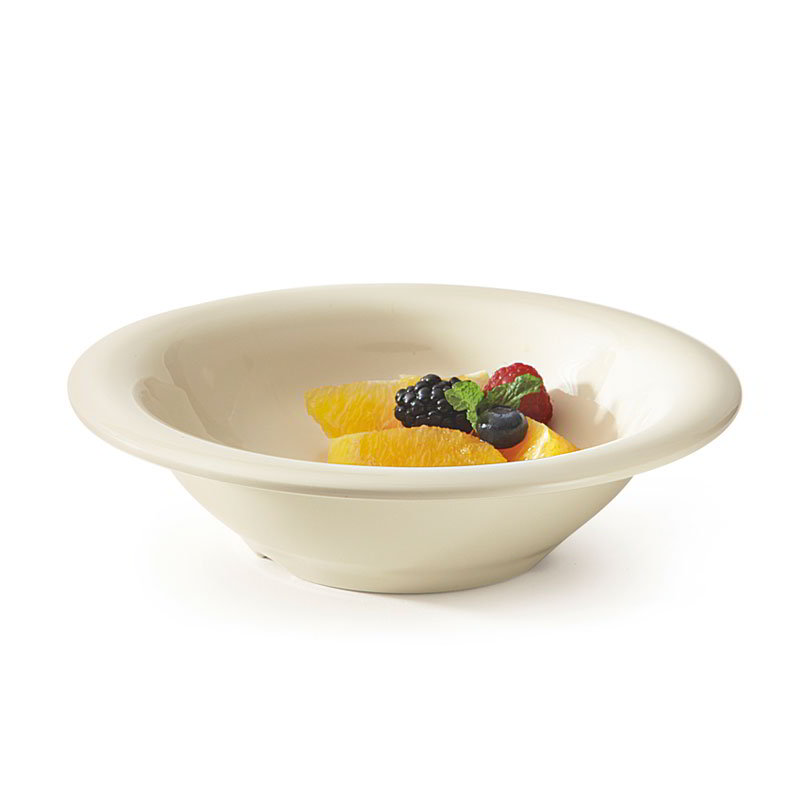 GET B-127-DI 12 oz Bowl, 7-1/2 in, Melamine, Ivory