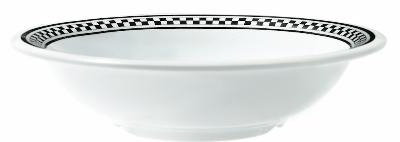 GET B-167-X 16 oz Bowl, 7-1/2 in, Melamine, White