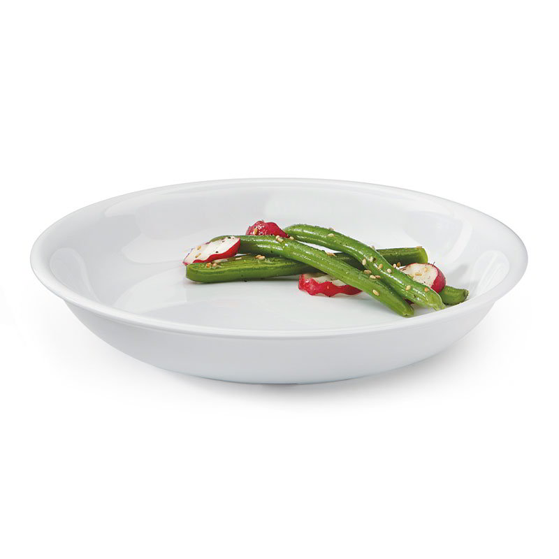 GET B-875-DW 30 oz Salad/Pasta Bowl, 8-1/2 in, White