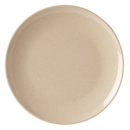"GET BAM-16100 7.75"" BambooMel Coupe Plastic Plate"