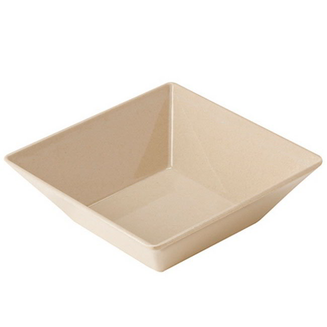 GET BAM-1246 8-in Square BambooMel Bowl w/ 1.6-qt Capacity