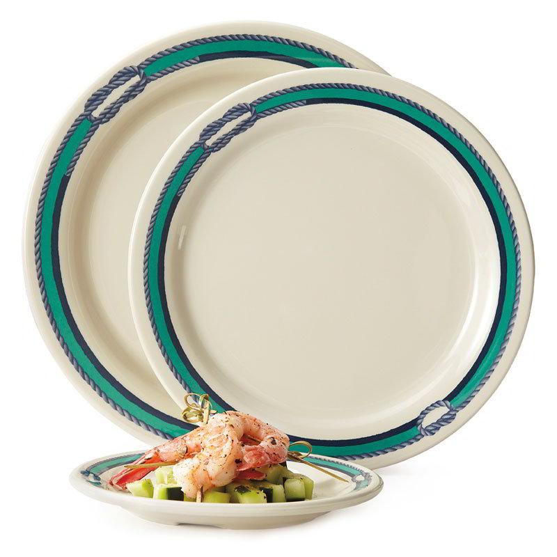 GET BF-090-FP 9 in Dinner Plate, Melamine, Centennial Freeport