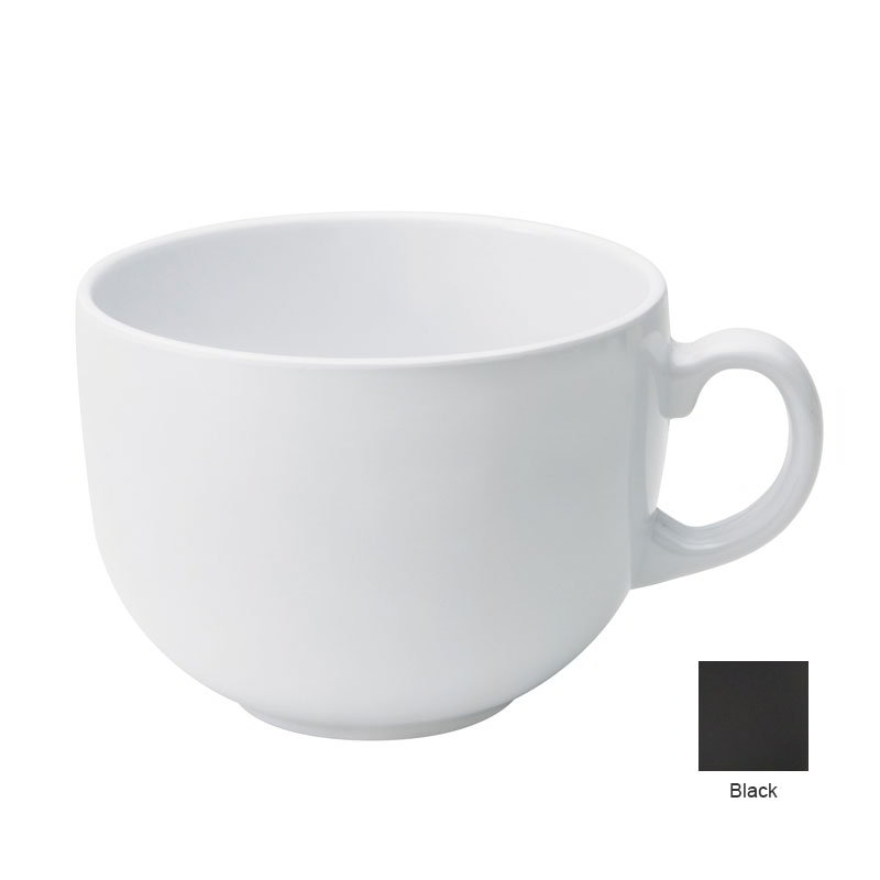 GET C-1002-BK 20 oz Coffee & Soup Mug, Blac