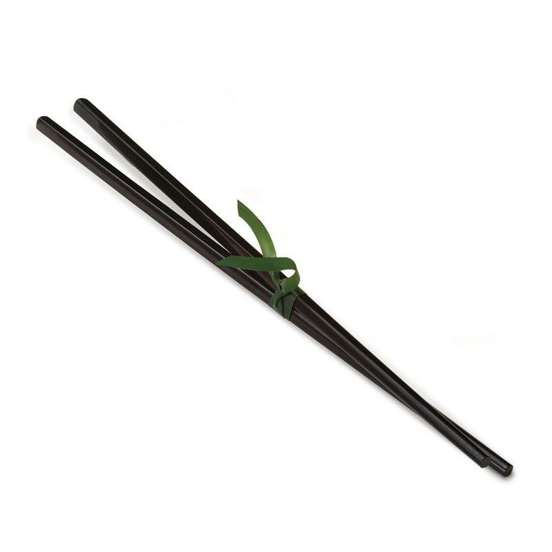 GET CHOPSTICKS-BK Chopsticks, Plastic, Black
