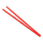 GET CHOPSTICKS-RSP Chopsticks, Plastic, Red