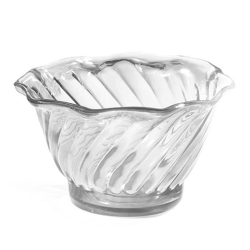 GET DD-50-CL 5 oz Dessert Dish, SAN Plastic, Clear