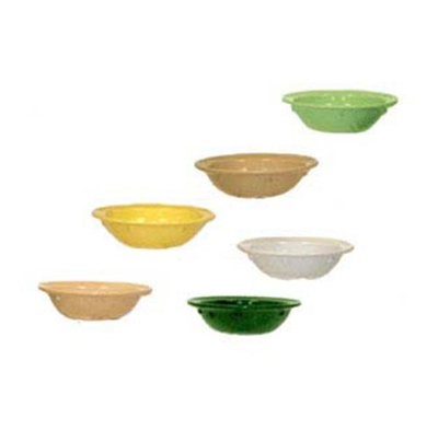 GET DN-350-HG 5 oz Fruit Bowl, 4-5/8 in, Melamine, Hunter Gree