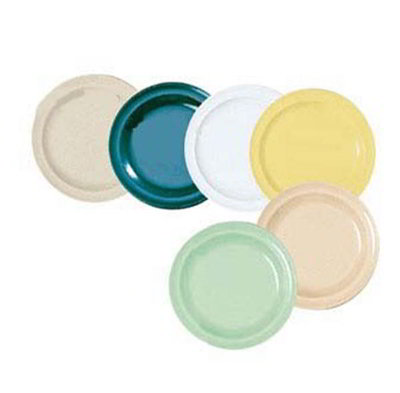 GET DP-506-G 6-1/2 in Salad Plate, Melamine, Green, Supermel