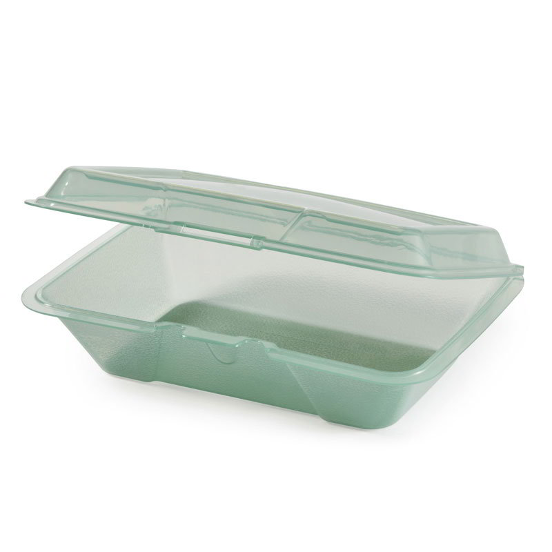 GET EC-04-JA Eco Take Out Series, 1 Compartment, 9 x 6-1/2 x 2-1/2, Poly, Jade