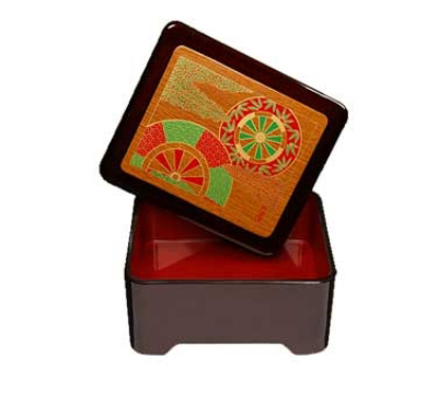 GET 230-2-F Fuji Don Jyu Box w/ Cover, 6.5 x 5.5 x 3-in High