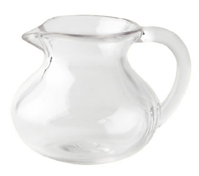 GET CM-300-PC-CL 3-oz Break Resistant Creamer, Clear Polycarbonate