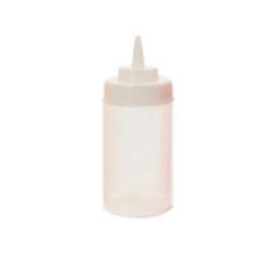 GET SB-12-CL 12-oz Squeeze Bottle w/ Lid &