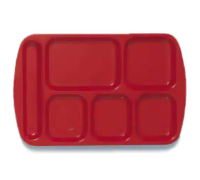 GET TL-151-R Left Handed School Tray w/ 6-Compartmen