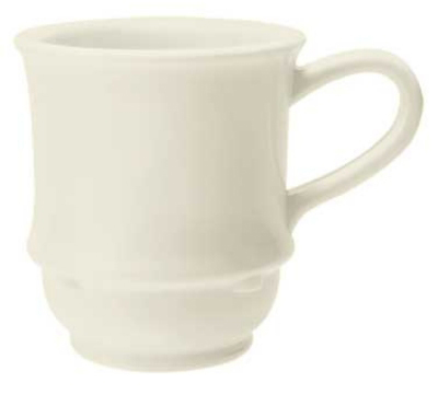 GET TM-1208-IV 8-oz Bake And Brew Stacking Mug, Ivory SAN
