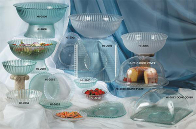 GET HI-2010-CL 13 in Plate, Polycarbonate, Clear