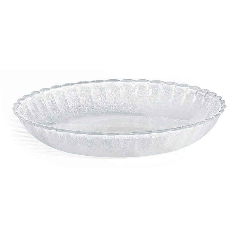GET HI-2002-CL 8-1/4 in Deep Soup/Salad Plate, Clear