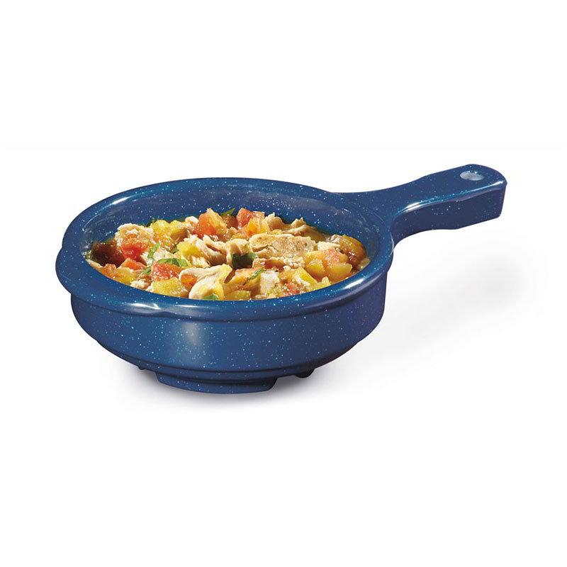 GET Enterprises HSB-112-TB 12 oz Soup Bowl w/Handle Melamine Texas Blue Restaurant Supply