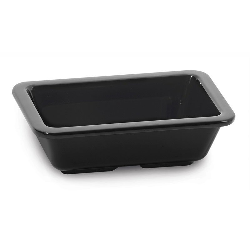GET ML-123-BK 4 oz Sauce Dish, Melamine, Black