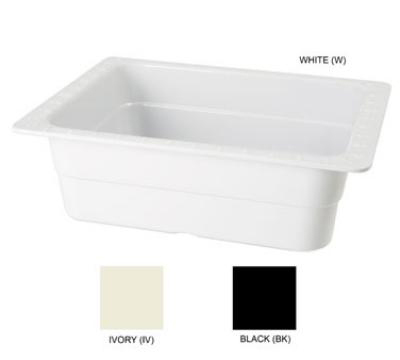 GET ML-21-IV Food Pan, 13 x 10-1/4, 4-in Deep, Ivory