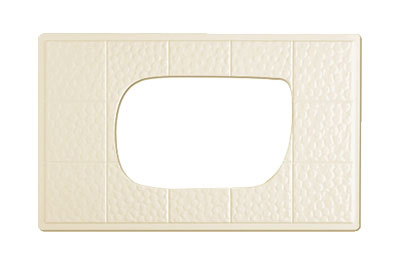 GET ML-221-IV Tiles-Cut Out, For ML-219 & ML-220, Melamine, Ivory