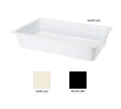 GET ML-22-IV Food Pan, 13-1/4 x 21, 4-in Deep, Ivory