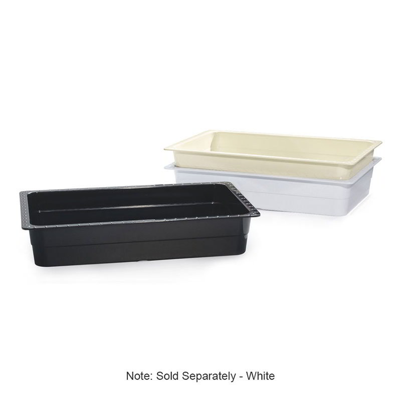 GET ML-22-W Food Pan, 13-1/4 x 21, 4-in Deep, White