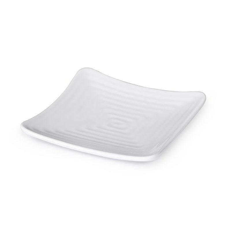 GET ML-62-W 8-3/4 in x 8-3/4 in Plate, Melamine, White