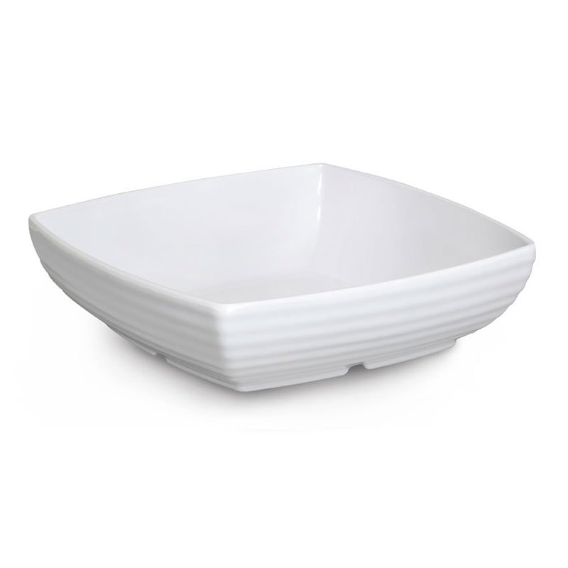 GET ML-68-W 3 qt Bowl, 10 in x10 in, Melamine, White