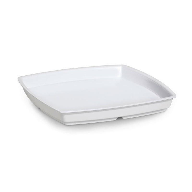GET ML-70-W 2 qt Bowl, 11 in x 11 in, Melamine, Wh