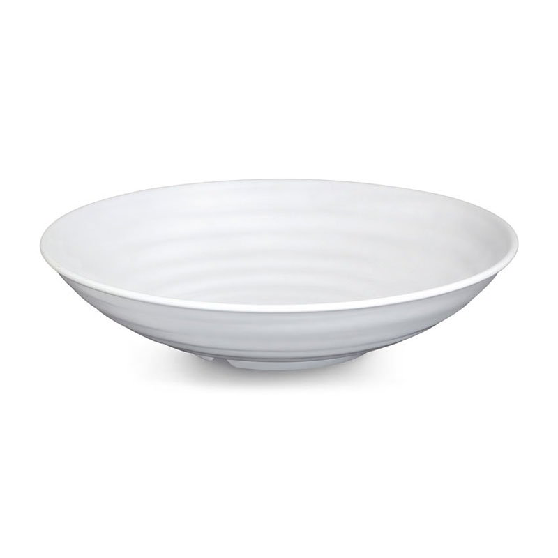 GET ML-75-W 4 qt Bowl, 13-1/2 in, Melamine, White