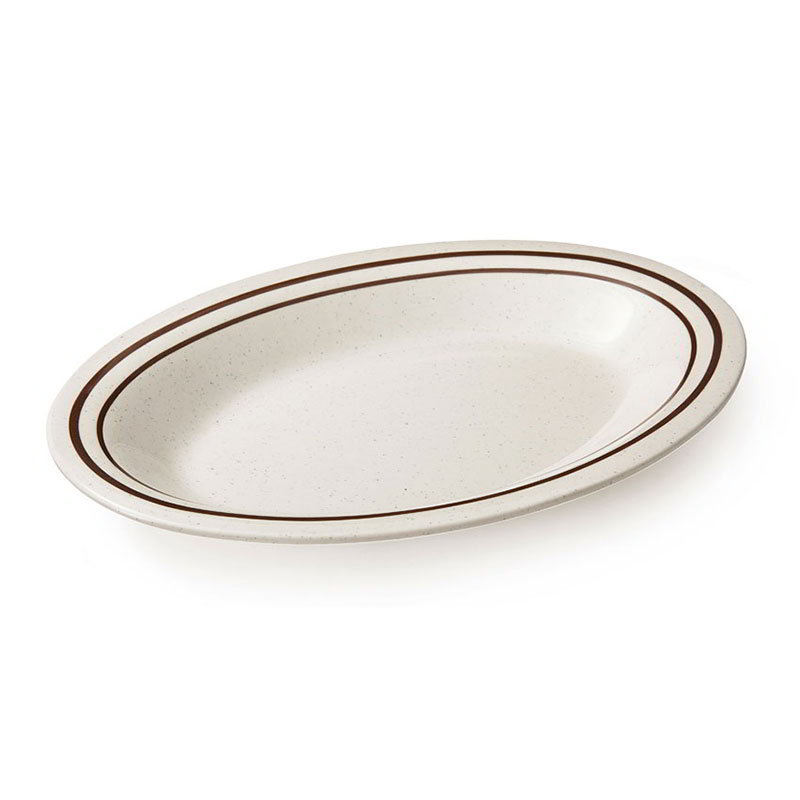 GET OP-220-U 12 in Oval Platter
