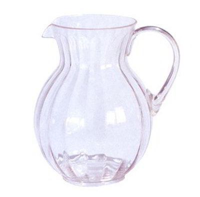 GET P-4090-CL 90 oz Pitcher, Clear, Polyca