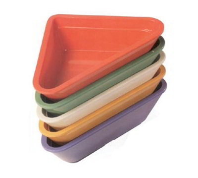 GET RM-201-MIX 2 oz Ramekin, Triangle, Melamine, Mar