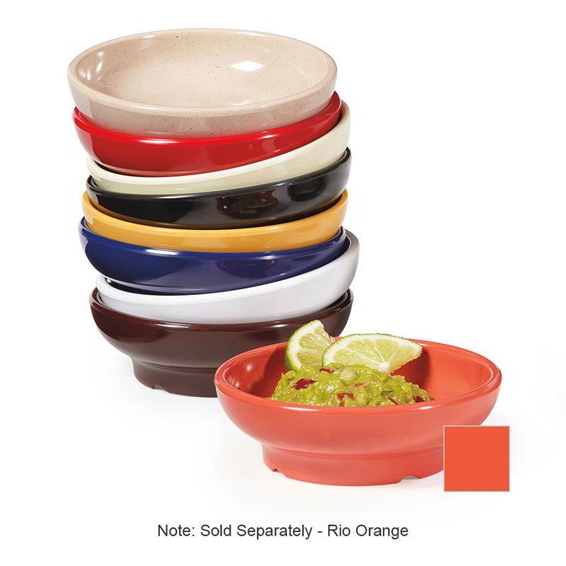 GET SD-05-RO Salsa Dish, 5 oz, Melamine, Rio Orange