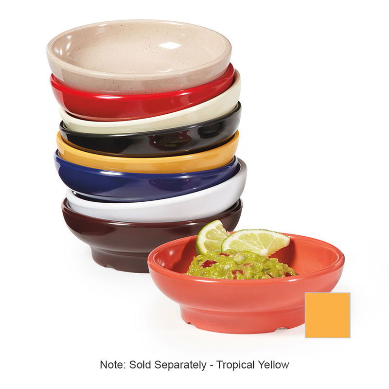 GET SD-05-TY Salsa Dish, 5 oz, Melamine, Tropical Yellow