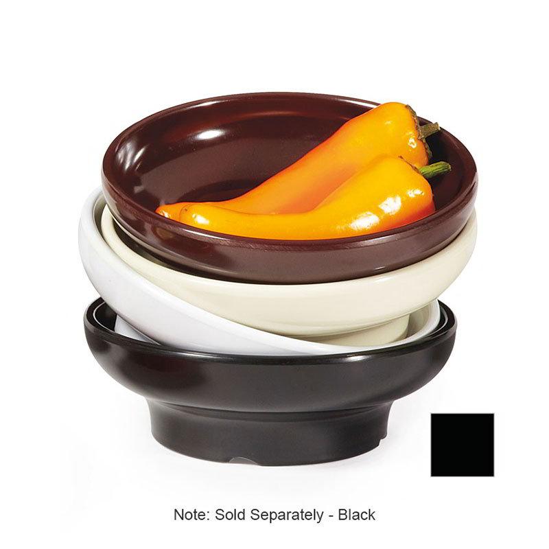 GET SD-06-BK 6 oz Salsa Dish, Melamine, Black