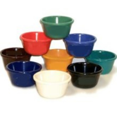 GET SP-RM-400-IV 4-oz Plain Cone Shaped Ramekin, Ivory