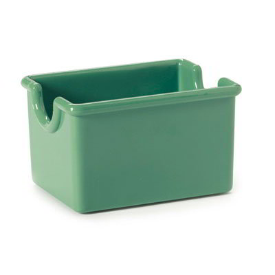 GET SP-SC-66-FG SAN Sugar Caddy, 3.5 x 2.5 x 2-in Deep, Forest Green