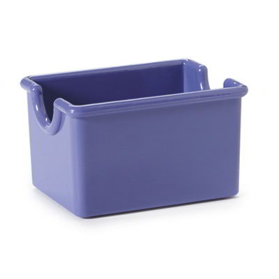 GET SP-SC-66-PB SAN Sugar Caddy, 3.5 x 2.5 x 2-in Deep, Peacock Blue
