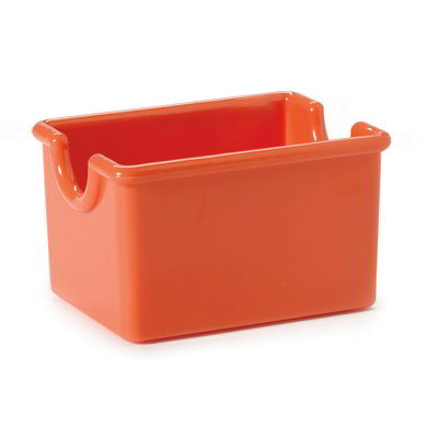 GET SP-SC-66-RO SAN Sugar Caddy, 3.5 x 2.5 x 2-in Deep, Rio Orange