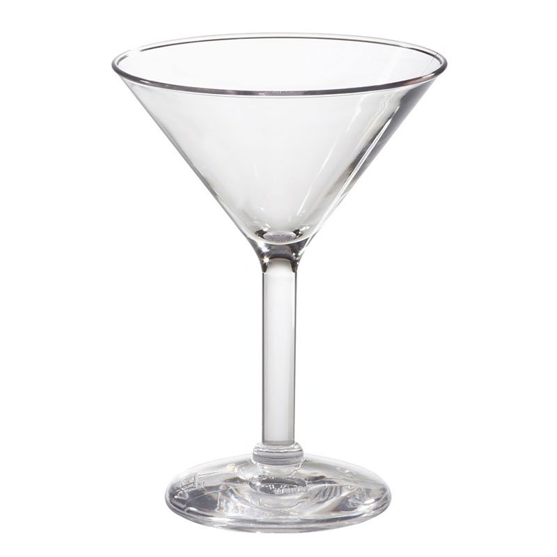 GET SW-1402-1-SAN-CL 6-oz Martini Glass,