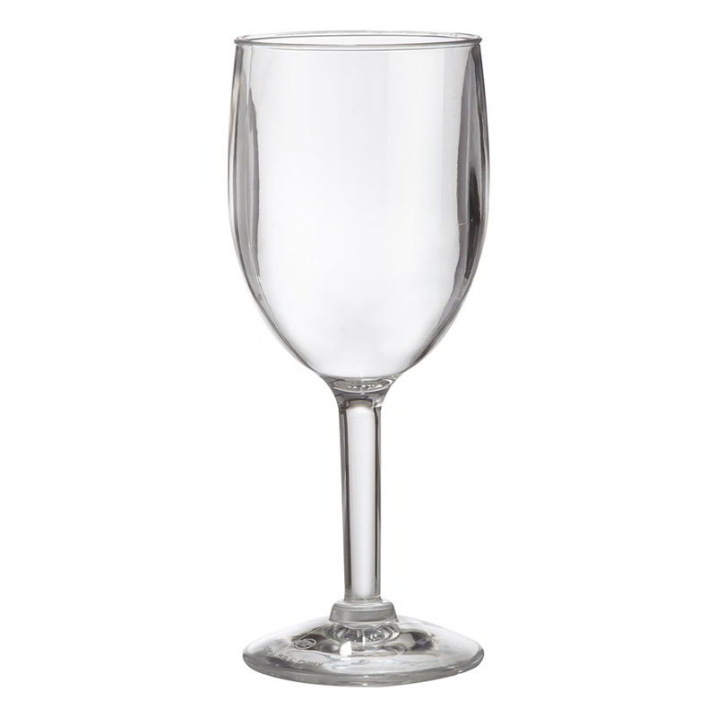 GET SW-1404-1-SAN-CL 8-oz Wine Glass, Clea