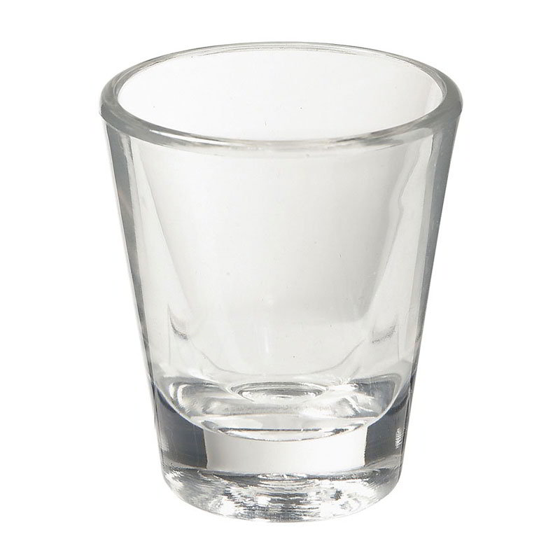GET SW-1409-1-CL 1.5-oz Lined Shot Glass, Cl
