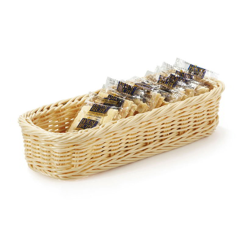 GET WB-1528-N Rectangular Basket, 9 x 3.75 x