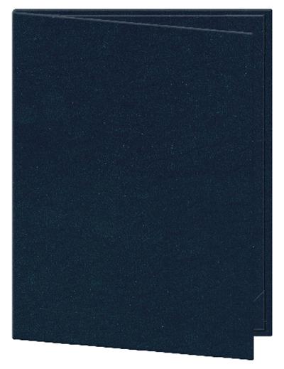 Risch OM-2V4-1/4X11 BL Oakmont Menu Cover - Double-View, 4-1/4x11&quo
