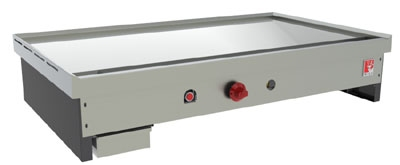 Wolf Range TYG60C NG 60-in Teppan Yaki Griddle w/ .75-in Thick Polished Steel Plate,