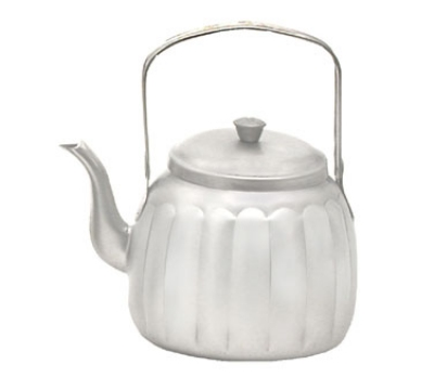 Town Food Service 24148 48-oz Stainless Teapot w/ Gooseneck Spout, Pivot Handle With Knob