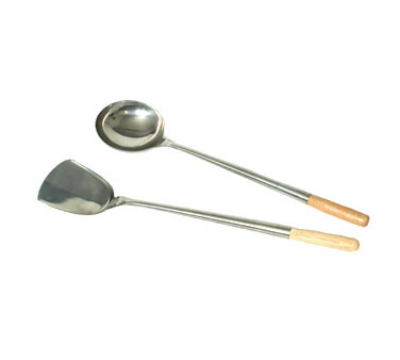 Town Food Service 33973 Stainless Wok Shovel 3-1/2 X 4 in