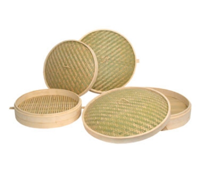 Town Food 34224C Bamboo Steamer Cover 24 in Restaurant Supply