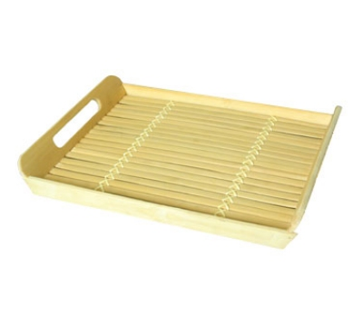 Town Food Service 34237 Rectangle Serving Tray, With Built In Handles, 12 X 17 in